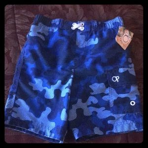 Op boys toddler Swim trunks size 3T